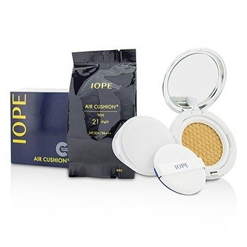 Air Cushion Spf50 With Extra Refill #c21 (cover Vanilla) Iope Air Cushion Spf50 With Extra Refill #c21 (cover Vanilla) 2x15g/0.525oz