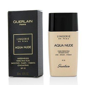 Купить Lingerie De Peau Aqua Nude Основа SPF 20 - # 03W Natural Warm 30ml/1oz, Guerlain