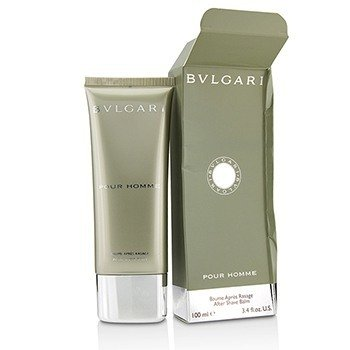 Bvlgari Pour Homme After Shave Balm (Box Slightly Damaged) 100ml/3.4oz Aftershave
