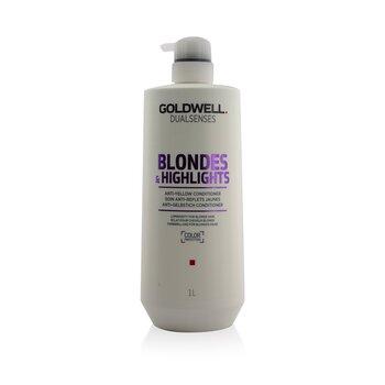 Купить Dual Senses Blondes & Highlights Кондиционер против Желтизны (Сияние для Светлых Волос) 1000ml/33.8oz, Goldwell