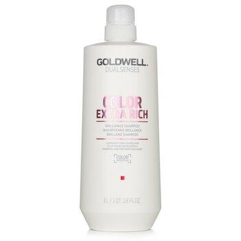 Купить Dual Senses Color Extra Rich Шампунь для Блеска (Сияние для Жестких Волос) 1000ml/33.8oz, Goldwell