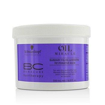 BC Bonacure Oil Miracle Barbary Fig Oil  Keratin Восстанавливающая Маска (Для Очень Сухих и Ломких Волос) 500ml/16.9oz