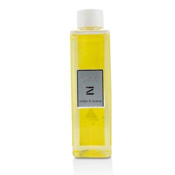Zona Ароматический Диффузор Запасной Блок - Amber & Incense 250ml/8.45oz, Millefiori  - Купить