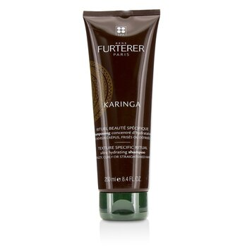 Rene Furterer Karinga Ultra Hydrating Shampoo (Frizzy  Curly or Straightened Hair) 250ml/8.4oz