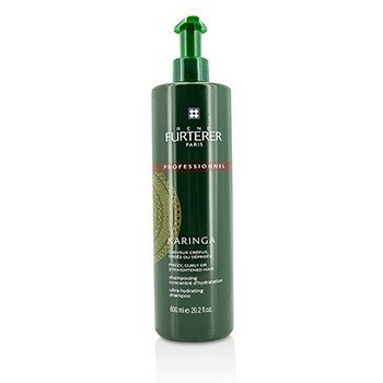 Rene Furterer Karinga Ultra Hydrating Shampoo - Frizzy  Curly or Straightened Hair (Salon Product) 600ml/20.2oz