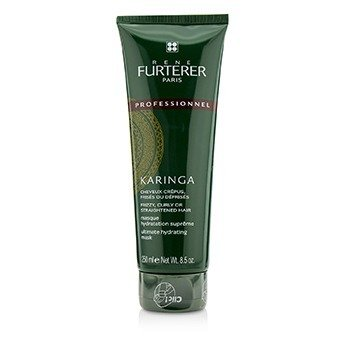 Rene Furterer Karinga Ultimate Hydrating Mask - Frizzy  Curly or Straightened Hair (Salon Product) 250ml/8.4oz