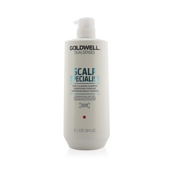 Купить Dual Senses Scalp Specialist Глубоко Очищающий Шампунь (Очищение для Всех Типов Волос) 1000ml/33.8oz, Goldwell