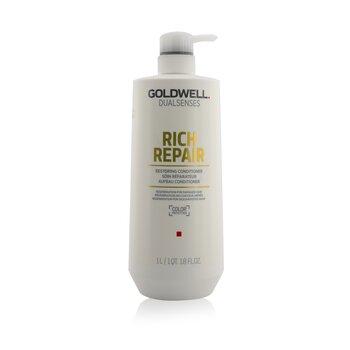 Купить Dual Senses Rich Repair Восстанавливающий Кондиционер (Регенерация для Поврежденных Волос) 1000ml/33.8oz, Goldwell