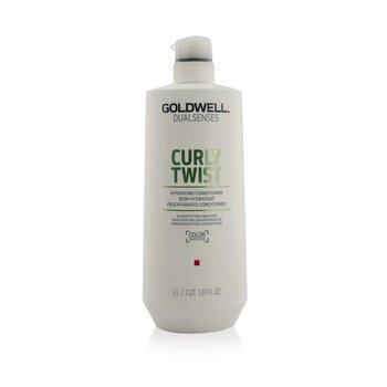Купить Dual Senses Curly Twist Увлажняющий Кондиционер (Эластичность для Кудрявых Волос) 1000ml/33.8oz, Goldwell