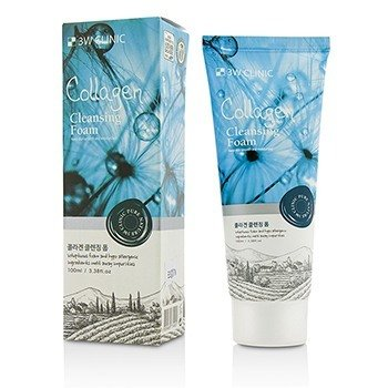 3W Clinic Cleansing Foam - Collagen 100ml/3.38oz