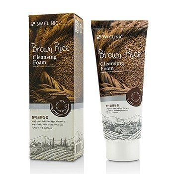 Image of 3W Clinic Cleansing Foam - Brown Rice 100ml/3.38oz
