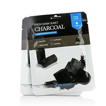Mask Sheet - Charcoal 3W Clinic Mask Sheet - Charcoal 10pcs