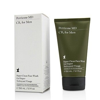 CBx For Men Super Clean Face Wash Perricone MD CBx For Men Super Clean Face Wash 150ml/5.1oz 21598898521