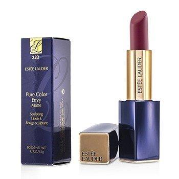 Estee Lauder Pure Color Envy Matte Sculpting Lipstick # 220 Unattainable 3.5g/0.12oz