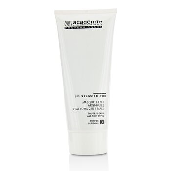 Image of Academie Clay To Oil 2 in 1 Mask - For All Skin Types (Salon Size) 200ml/6.7oz