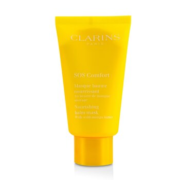 Clarins SOS Comfort Nourishing Balm Mask with Wild Mango Butter – For Dry Skin 75ml|2.3oz