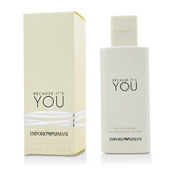 Купить Emporio Armani Because It's You Чувственный Парфюмированный Лосьон для Тела 200ml/6.7oz, Giorgio Armani