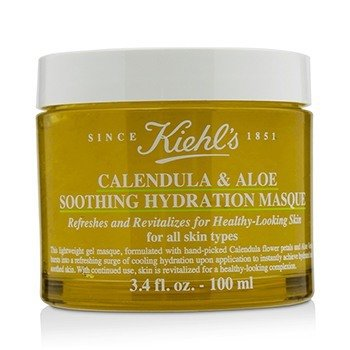 Kiehl's Calendula & Aloe Soothing Hydration Masque - For All Skin Types 100ml/3.4oz