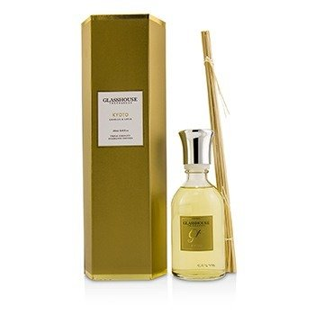 GLASSHOUSE | Glasshouse Triple Strength Fragrance Diffuser - Kyoto (Camellia & Lotus) 250ml/8.45oz | Goxip