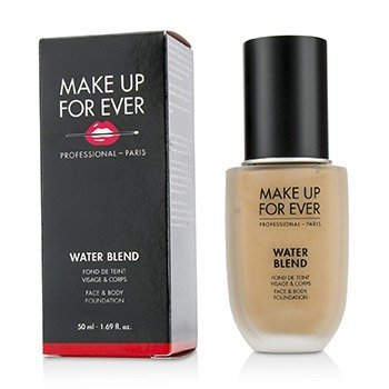 Купить Water Blend Основа для Лица и Тела - # R370 (Medium Beige) 50ml/1.69oz, Make Up For Ever