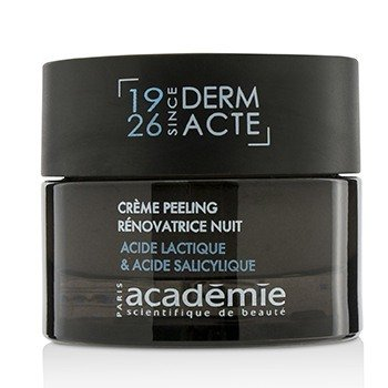 Image of Academie Derm Acte Restorative Exfoliating Night Cream (Unboxed) 50ml/1.7oz