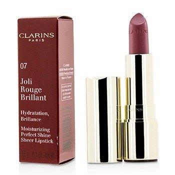 Joli Rouge Brillant (Увлажняющая Сияющая Губная Помада) - # 07 Raspberry 3.5g/0.12oz, Clarins  - Купить