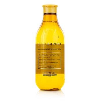 Купить Professionnel Serie Expert - Nutrifier Glycerol + Coco Oil Питательный Шампунь без Силикона 300ml/10.1oz, L'Oreal