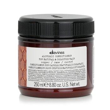 Davines Alchemic Conditioner - # Copper (For Natural & Coloured Hair) 250ml/8.84oz