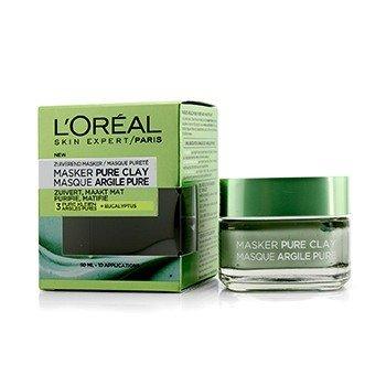 Купить Skin Expert Pure Clay Маска - Очищает и Матирует 50ml/1.7oz, L'Oreal