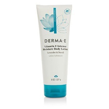 Derma E Therapeutic Vitamin E Intense Moisture Body Lotion - Lavender & Neroli 227g/8oz