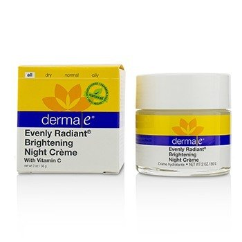Derma EEvenly Radiant Brightening Night Cream 56g 2oz