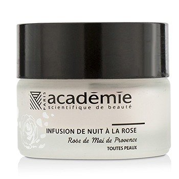 Image of Academie Aromatherapie Night Infusion Rose Cream (Unboxed) 30ml/1oz