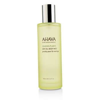 Image of Ahava Deadsea Plants Dry Oil Body Mist - Prickly Pear & Moringa 100ml/3.4oz