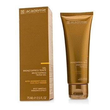 Image of Academie Bronz Express Face SelfTanner Tinted Gel 75ml2.5oz