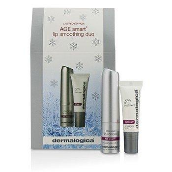 더말로지카 Age Smart Lip Smoothing Duo (Limited Edition): Renewal Lip Complex 1.75ml + Nightly Lip Treatment 4m 2pcs