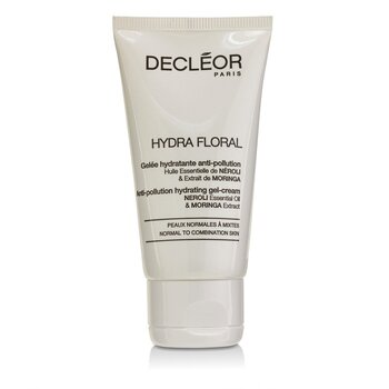 Hydra Floral Neroli & Moringa Anti-Pollution Hydrating Gel-Cream - Normal to Combination Skin (Salon Product) Decleor Hydra Floral Neroli & Moringa Anti-Polluti