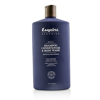 Esquire Grooming The 3-in-1 Shampoo  Conditioner & Body Wash 414ml/14oz