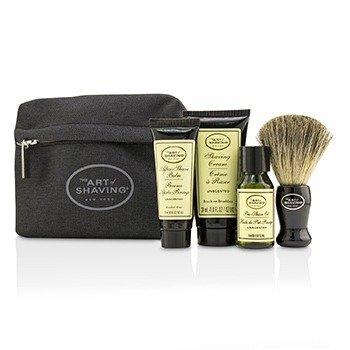 Купить Базовый Набор - без Запаха: Масло до Бритья + Крем для Бритья + Бальзам после Бритья + Кисть + Сумка + 1 Bag, The Art Of Shaving