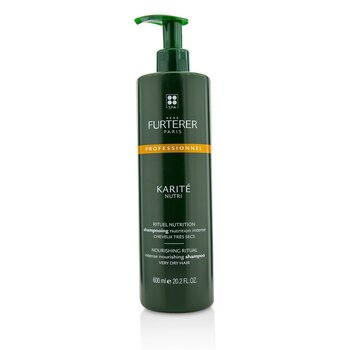 Rene Furterer Karite Nutri Nourishing Ritual Intense Nourishing Shampoo - Very Dry Hair (Salon Product) 600ml/20.2oz