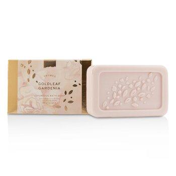 Thymes Goldleaf Gardenia Luxurious Bath Soap 170g/6oz