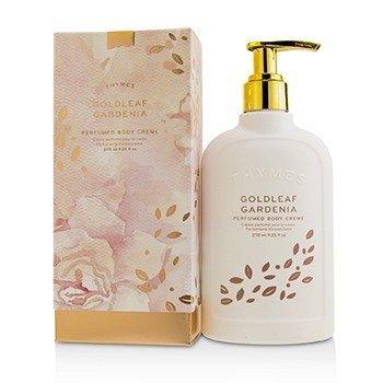 Thymes Goldleaf Gardenia Perfumed Body Cream 270ml/9.25oz