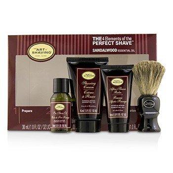 The 4 Elements of the Perfect Shave Средний Набор - Sandalwood 4pcs фото