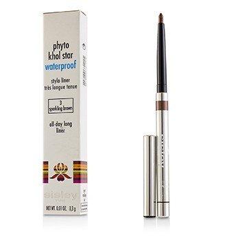 Купить Phyto Khol Star Водостойкий Карандаш для Глаз - # 3 Sparkling Brown 0.3g/0.01oz, Sisley