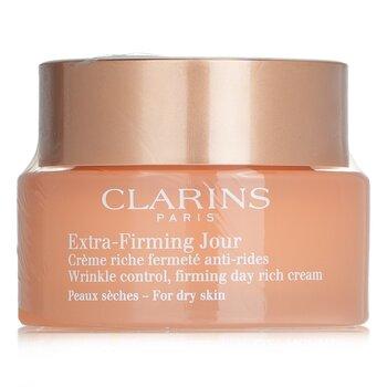 Купить Extra-Firming Jour Укрепляющий Дневной Насыщенный Крем против Морщин - для Сухой Кожи 50ml/1.7oz, Clarins