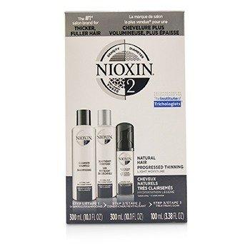 Купить 3D Care System Набор 2 - для Натуральных Волос, Прогрессирующая Степень Выпадения, Легкое Увлажнение 3pcs, Nioxin