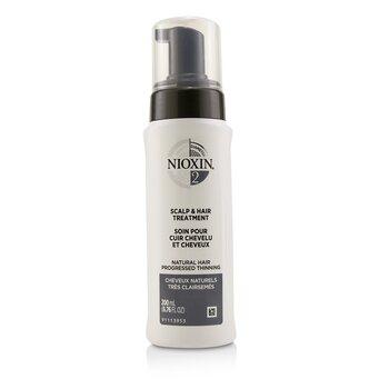 Купить Diameter System 2 Средство для Волос и Кожи Головы (для Натуральных Волос, Прогрессирующее Выпадение) 200ml/6.76oz, Nioxin