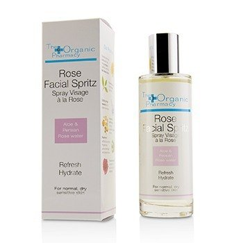 The Organic Pharmacy Rose Facial Spritz - For Normal  Dry & Sensitive Skin 100ml/3.3oz