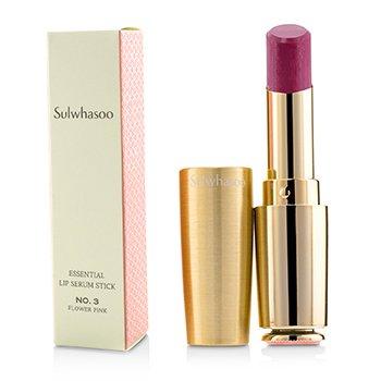 Sulwhasoo Essential Lip Serum Stick - # No. 3 Flower Pink 3g/0.1oz