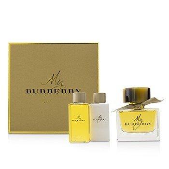 BurberryMy Burberry Coffret Eau De Parfum Spray 90ml 3oz Body Lotion 75ml 2.6oz Bathing Gel 75ml 2.6oz 3pcs