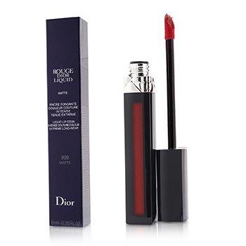 Rouge Dior Liquid Lip Stain - # 999 Matte (Red) Christian Dior Rouge Dior Liquid Lip Stain - # 999 Matte (Red) 6ml/0.2oz